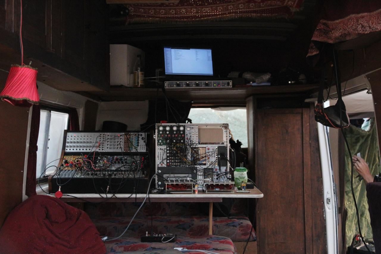The CCCamp2015 Audio Village Van (day mode)